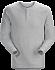 Sirrus Henley LS Men's Delos Grey Heather