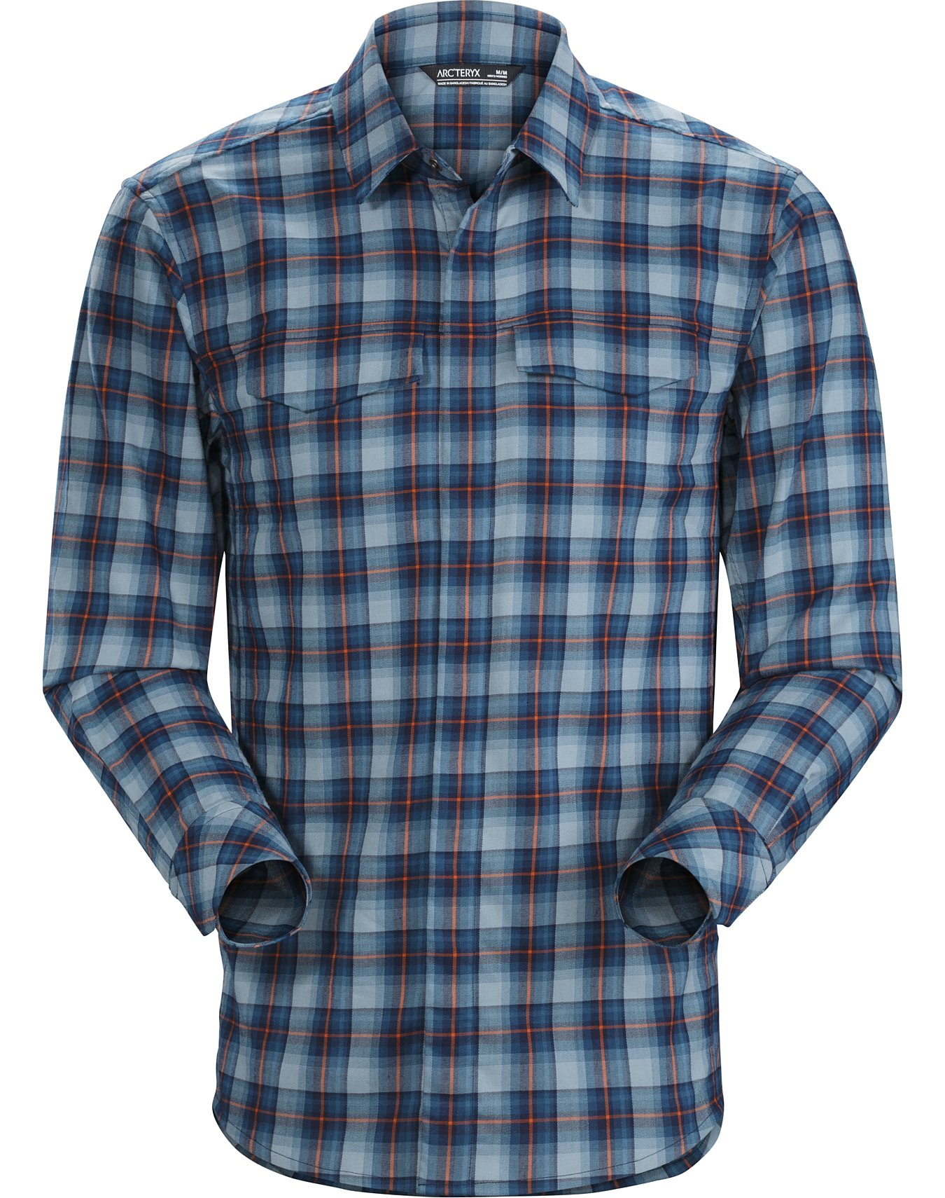 Beloved Mens Button Down Regular Fit Long Sleeve Plaid Casual Tops Shirts
