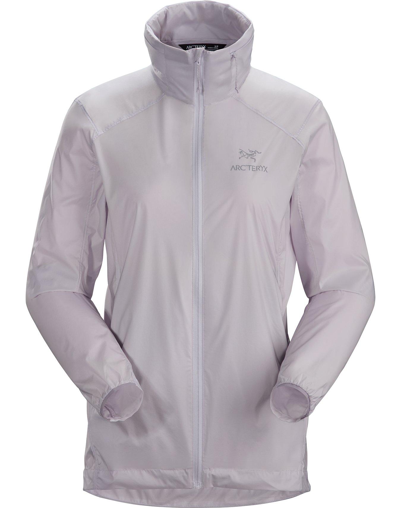 4th SEASON Damen Windbreaker mit Kapuze ultraleichte Regenjacke Long Spring Jacket Parka