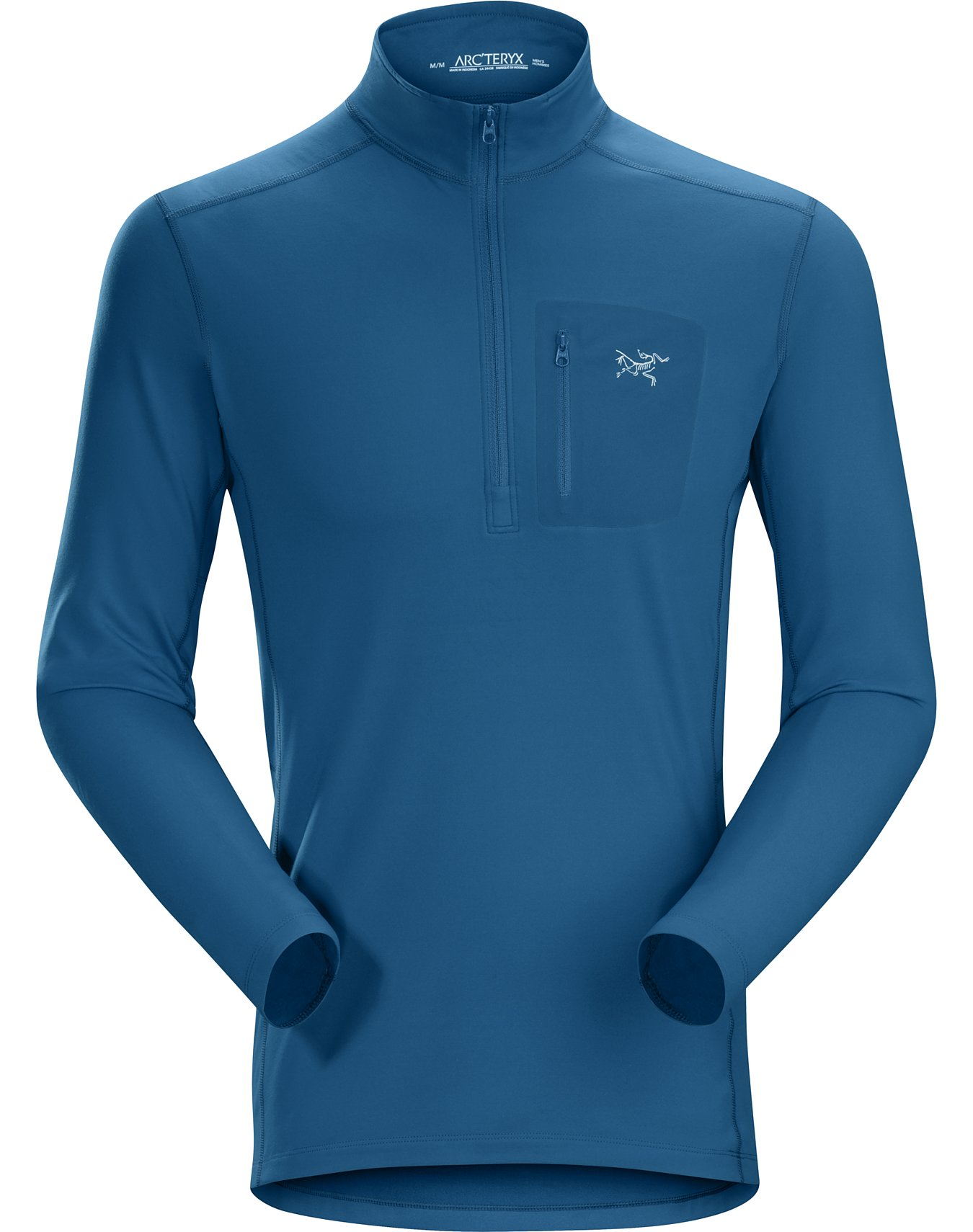 Long Sleeve Top SUB Sports COLD Mens Fitted Merino Wool Base Layer