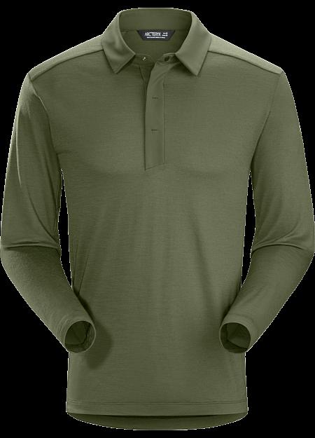 A2B Polo Shirt LS Men's Wildwood