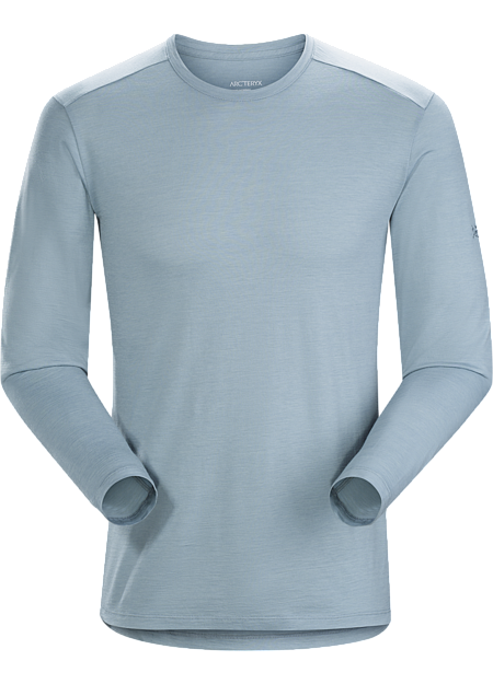 Merino wool-blend shirt for urban bike commutes and daily wear.