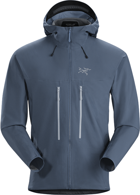 Abrasion-resistant hardfleece hoody excelling in moisture management.