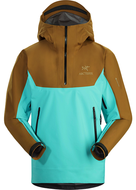 <p>Technically advanced GORE-TEX pullover made from reclaimed raw materials.</p>
