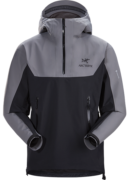 Alpha Pullover Men's Titanium/Black