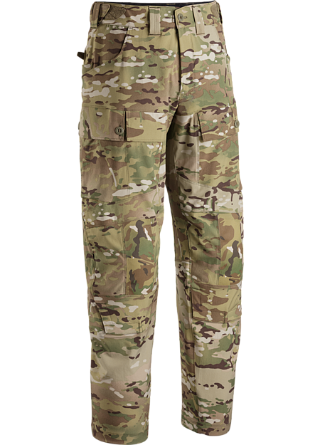 A softshell materials based combat pant that is worn when conducting Direct Action tasks in cool/cold weather conditions.