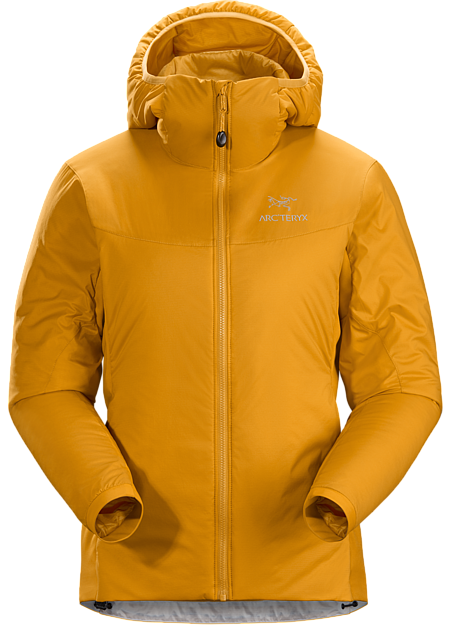 Exceptionally versatile insulated hoody that excels as a midlayer or standalone. Atom Series: Synthetic insulated midlayers | LT: Lightweight.