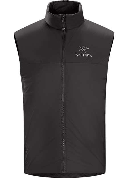 Lightweight, insulated Coreloft™ vest, designed to preserve core warmth. Ideal as a layering piece for cold weather activities. Atom Series: Synthetic insulated mid layers | LT: Lightweight.