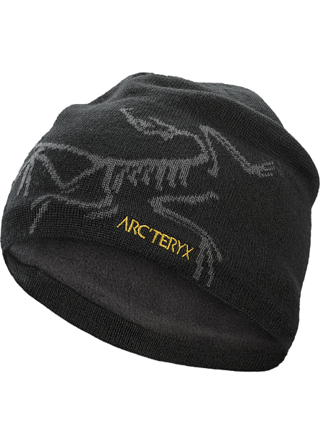 Bird Head Toque  24K Black