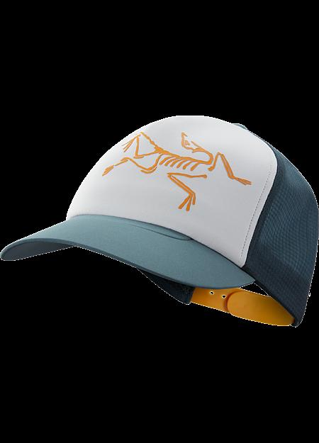 Bird Trucker Hat  Astral/Labyrinth/Delos Grey