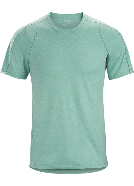Comfortable performance tee for trail runs and high-output mountain adventures.
