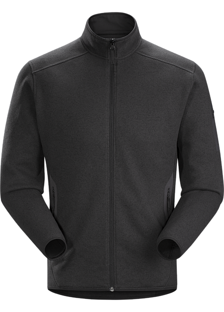 Covert Cardigan Men's Black Heather
