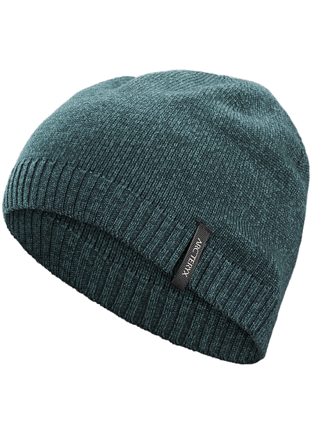 Merino wool blend toque with clean, minimal, refined style.