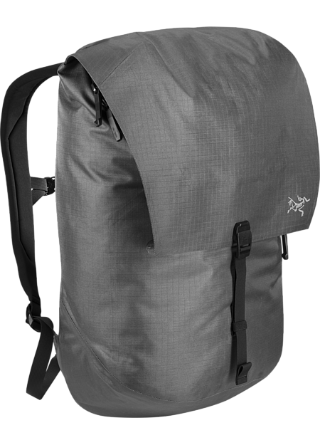 Urban backpack with advanced weather protection and smart organization.