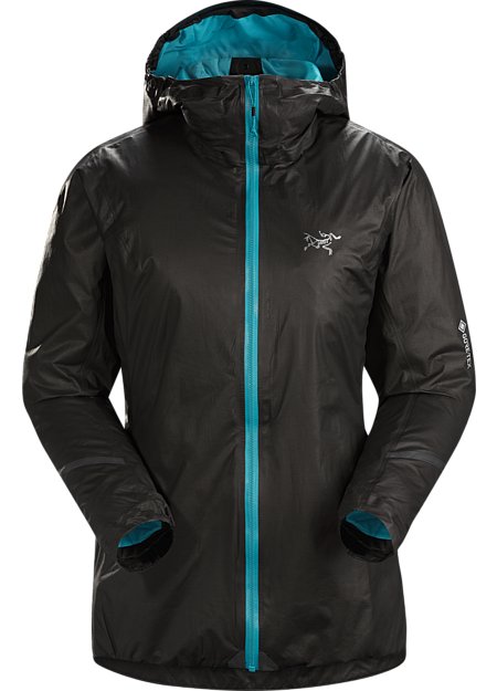 Our lightest insulated waterproof jacket with GORE-TEX SHAKEDRY™ product technology for high output trail running in cold and wet conditions. | SL: Superlight.