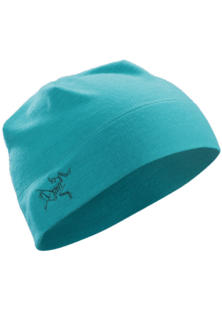 A Wool beanie, featuring a double layered headband and embroidered Bird logo on the side.