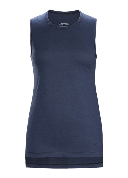 Casual, performance wool blend tank for everyday wear.