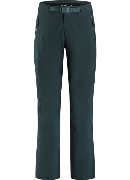 Women's GORE-TEX big mountain ski and snowboard pants with a trim, performance fit. | LT: Lightweight.
