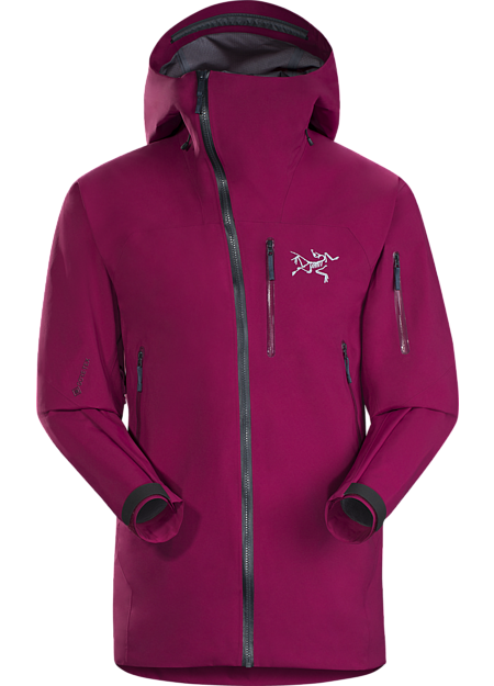 Tough waterproof hardshell. Sidewinder front zipper curves away from your face. Exceptionally durable snowsports specific waterproof shell.