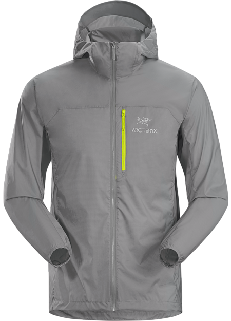 The legendary Arc'teryx windshell built for mild, but shifting, conditions.
