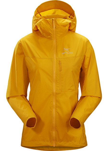 Lightweight, durable, compressible windshell with exceptional versatility.
