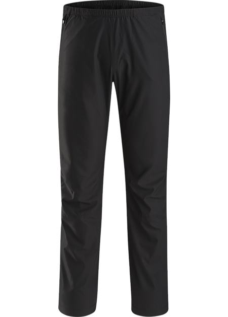 Light, full coverage, warm-up/cool down pant with 3/4 length side zips that enable easy removal over running shoes.