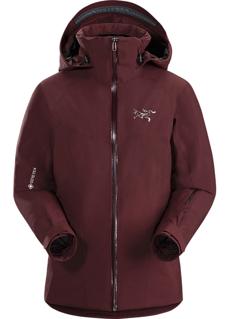 Women's versatile, waterproof, breathable, fully insulated GORE-TEX ski and snowboard jacket designed for repeated descents in cold conditions.