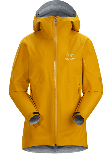Superlight, packable and waterproof GORE-TEX emergency shell for hiking. Zeta Series: Hiking and trekking apparel. | SL: Superlight.