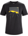 Backlit T-Shirt Men's Black Heather
