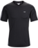 Motus Crew Neck Shirt SS Men's Black