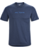 Remige Word Shirt SS Men's Cobalt Moon