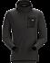 Rho LT Hooded Zip Neck Men's Black