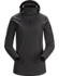 Rho LT Hooded Zip Neck Women's Black