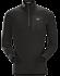 Satoro AR Zip Neck Shirt LS Men's Black