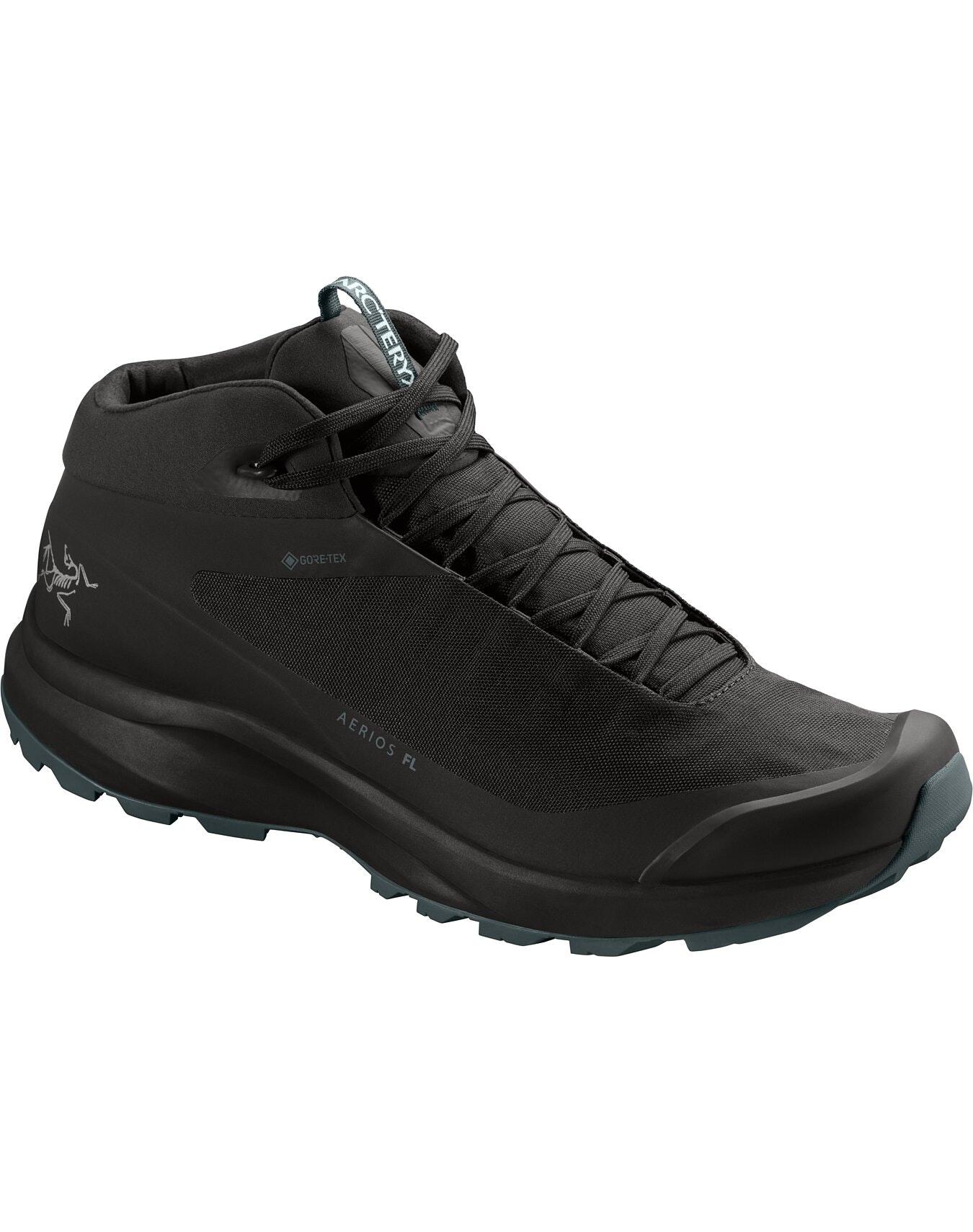 Aerios FL Mid GTX Shoe Black/CINDER