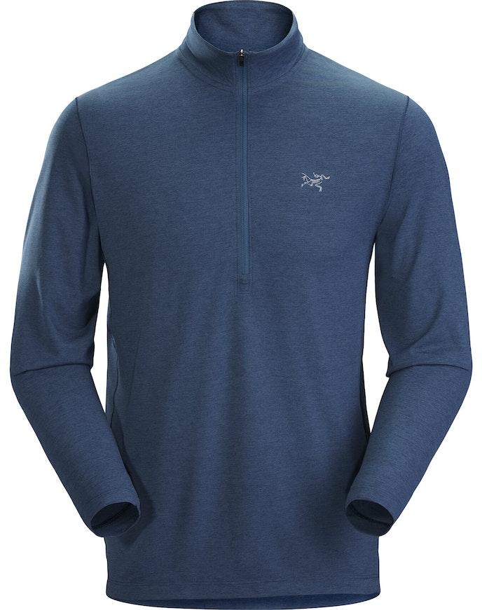 Cormac Zip Neck Shirt LS Men's