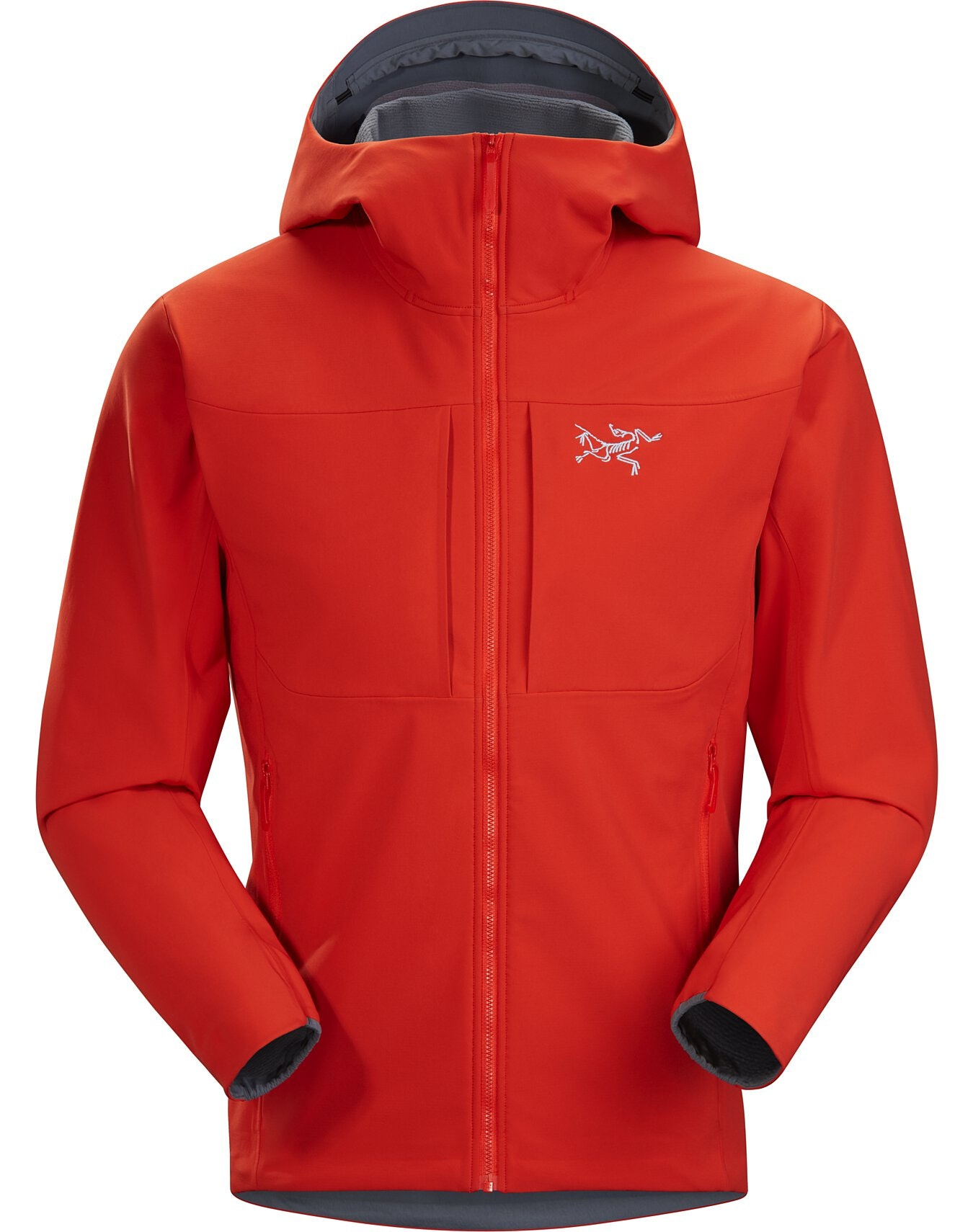 Details about  /Arc ´ Teryx Gamma MX Hoody Men ´S M Red Beach Red Softshell Jacket Men/'s New