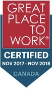 Great Place To Work November 2017 - November 2018