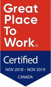 Great Place To Work November 2018 - November 2019