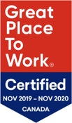 Great Place To Work November 2019 - November 2020