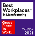 Great Place To Work Best Workplaces in Manufacturing in British Columbia 2021