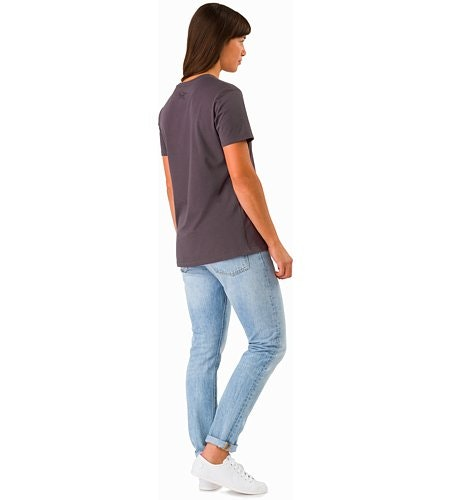 A Squared T-Shirt Women's Whiskey Jack Back View