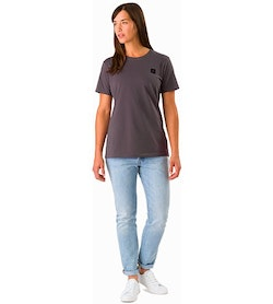 A Squared T-Shirt Women's Whiskey Jack Front View