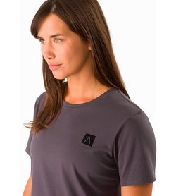 A Squared T-Shirt Women's Whiskey Jack Graphic Close Up