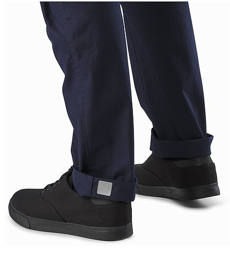 A2B Chino Pant Admiral Cuff Reflective Feature