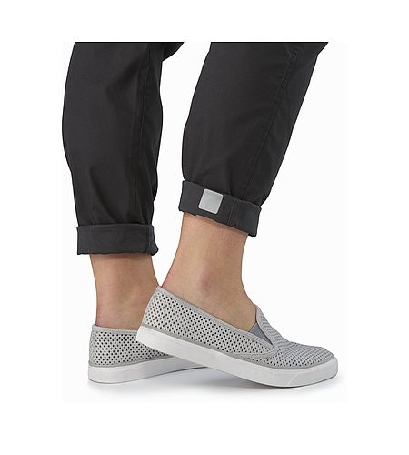A2B Chino Pant Women's Charcoal Reflective Feature