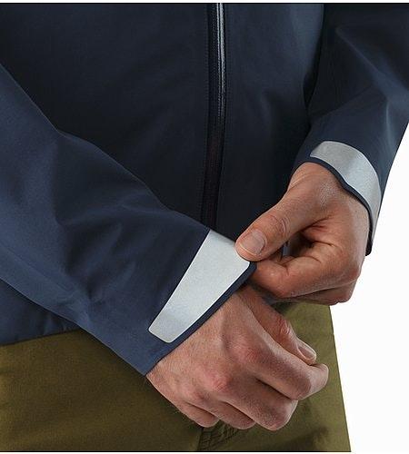 A2B Commuter Hardshell Jacket Nighthawk Cuffs