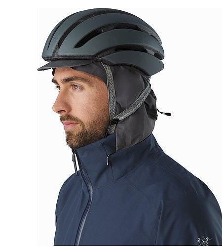 A2B Commuter Hardshell Jacket Nighthawk Hood With Helmet