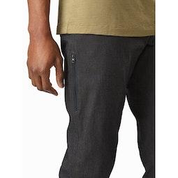 A2B Commuter Pant Carbon Fibre Thigh