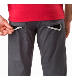 A2B Commuter Pant Pilot External Pocket Back Reflective Feature